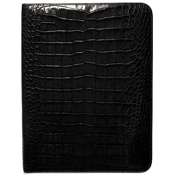 Croco Letter-Size Writing Pad Cover #2511