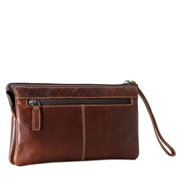 Voyager Zippered Wristlet Clutch #7723